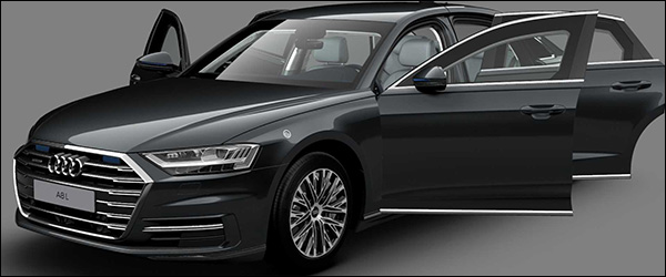 Officieel: Audi A8 L Security (2020)