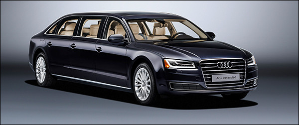 Officieel: Audi A8 L extended [6,36 meter!]