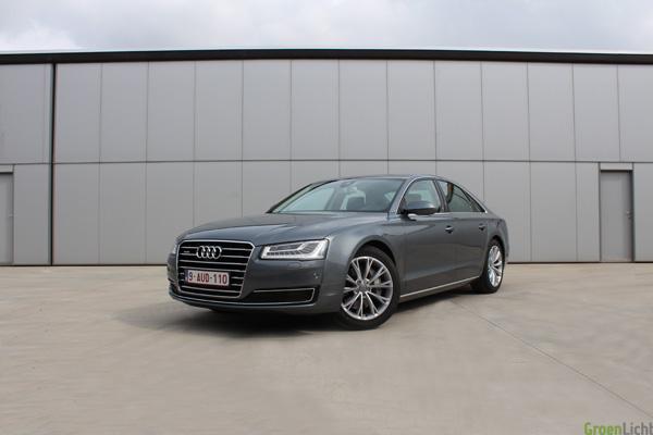 Audi A8 TDI 258 Rijtest - 22