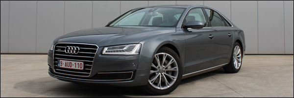 Audi A8 3.0 TDI 258 pk Facelift - Rijtest