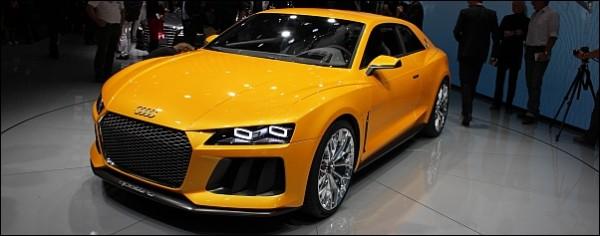 Audi - Frankfurt 2013 - Audi Sport Quattro Concept