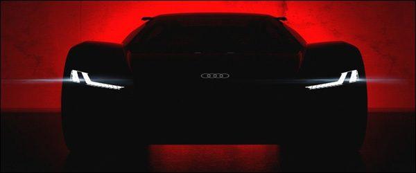 Teaser: Audi PB18 e-tron Concept (2018)