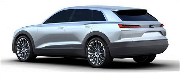 Is dit de Audi Q6 e-tron Concept?