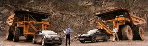 Audi Q7 V12 Porsche Panamera Turbo