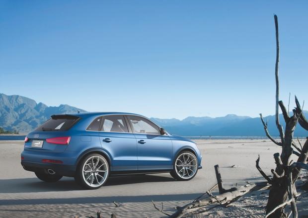 Onthuld in Peking: Audi RS Q3 Concept