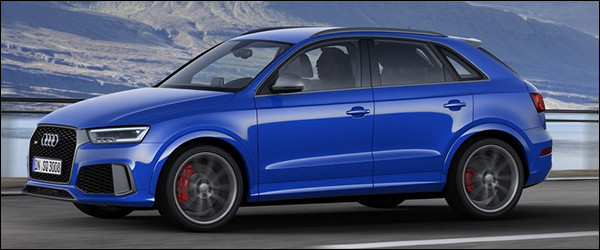 Officieel: Audi RS Q3 Performance [367 pk / 465 Nm]