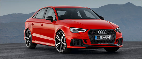 Officieel: Audi RS3 Berline [400 pk / 480 Nm]