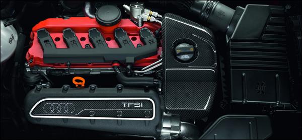 Audi RS3 Engine Vijfcilinder