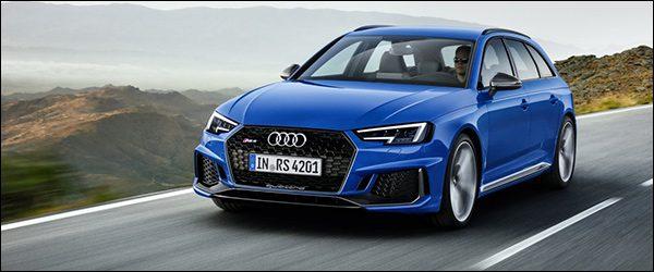 Officieel: Audi RS4 Avant (2017)