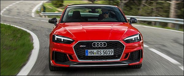 Officieel: Audi RS4 Avant & RS5 Coupe Carbon Edition (2017)