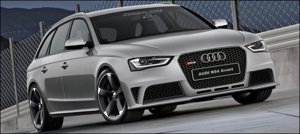 Audi RS4 Avant Impressie 2013