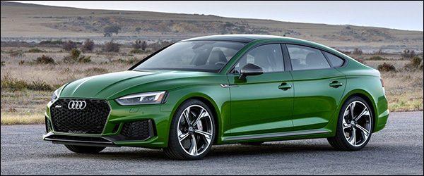 Officieel: Audi RS5 Sportback 2.9 TFSI (2018)