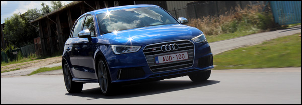 Audi S1 Rijtest - Header