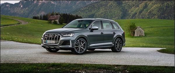 Officieel: Audi SQ7 V8 TFSI + SQ8 4.0 TFSI (2020)