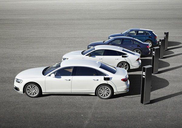 Officieel: Audi A8, A7, A6 en Q5 krijgen een efficiënte en krachtige TFSI e plug-in hybride motor (2019)