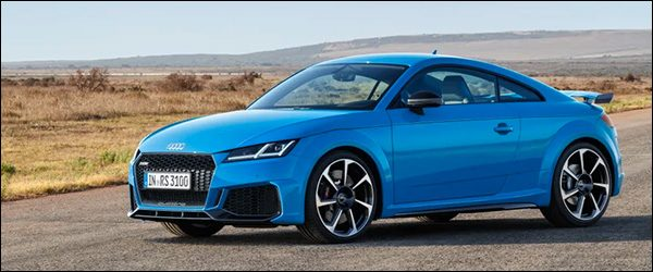 Officieel: Audi TT RS Coupe + TT RS Roadster facelift (2019)
