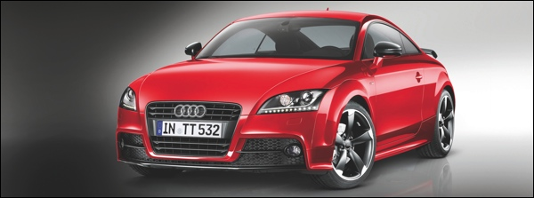 Audi TT Coup  S line competition/Farbe: Misanorot