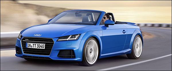 Officieel: Audi TT(S) Roadster