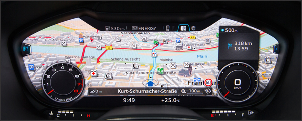 Audi TT interieur 2014 header