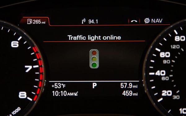 Audi Verkeerslichten Mijden