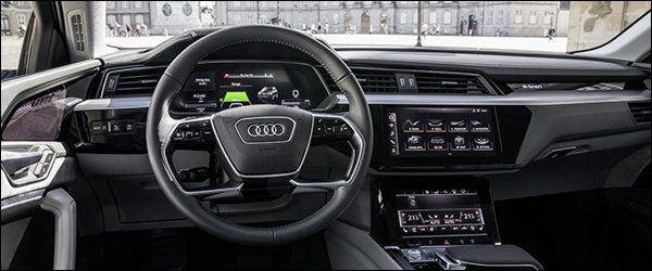 Preview: interieur Audi e-tron SUV (2018)