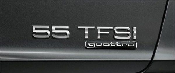 Audi hernoemt motorvarianten (2018)