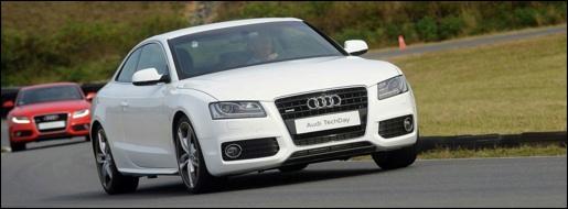Audi A5 Concept 100 kg reduction