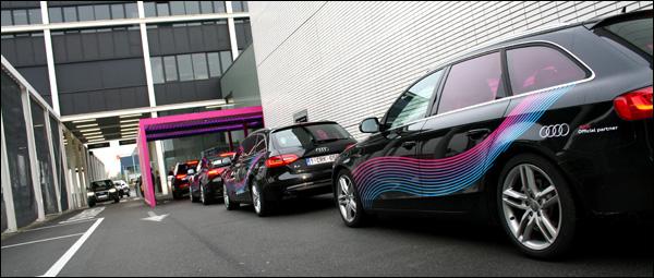 Audi at Interieur 2012