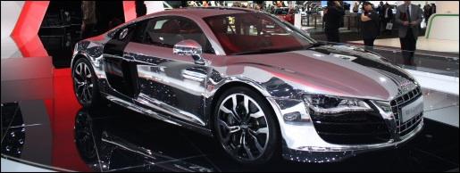 Chromen Audi R8 V10