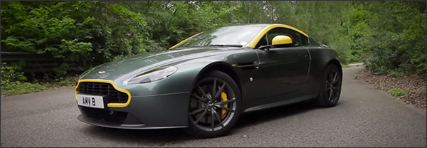 Video: Autocar test de Aston Martin V8 Vantage N430