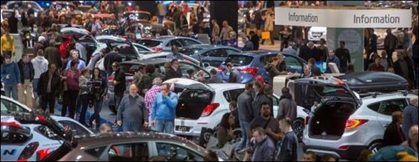 Autosalon 2014 Bezoekers