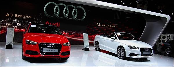 Autosalon Brussel 2014 - Audi