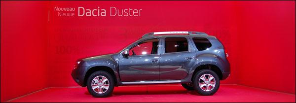Autosalon Brussel 2014 - Dacia Duster