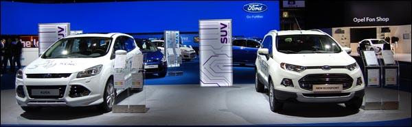 Autosalon Brussel 2014 - Ford - Header