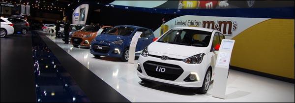Autosalon Brussel 2014 - Hyundai i10