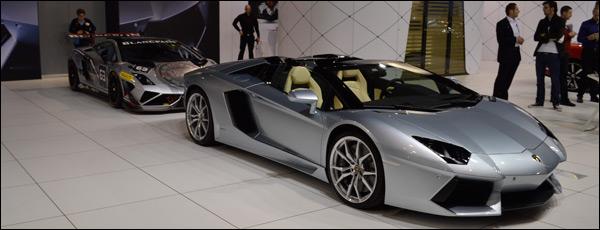 Autosalon Brussel 2014 Live: Lamborghini
