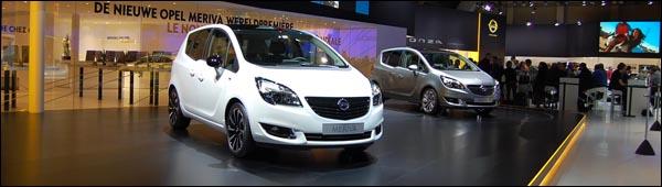 Autosalon Brussel 2014 - Opel Live