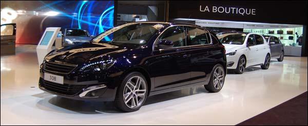 Autosalon Brussel 2014 - Peugeot Live