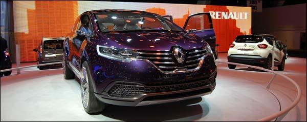Autosalon Brussel 2014 - Renault Live