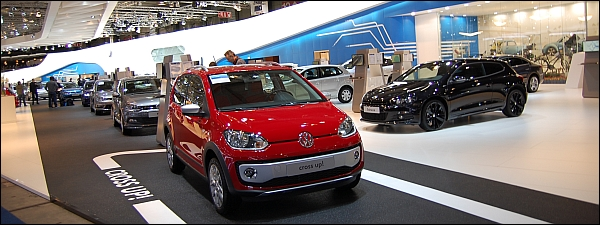 Autosalon Brussel 2014 - Volkswagen