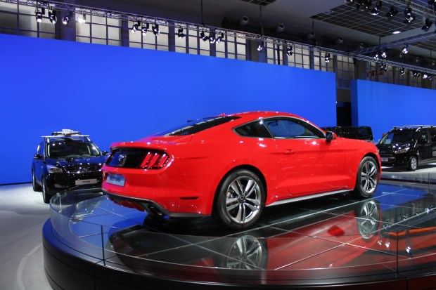 Ford mustang is een regelrecht koopje for Garage ford bruges