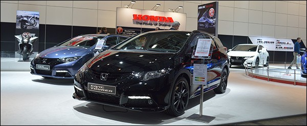 Autosalon Brussel 2015 Live: Honda (Paleis 8)