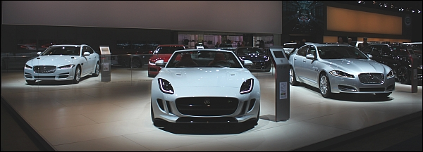 Autosalon Brussel 2015 - Jaguar