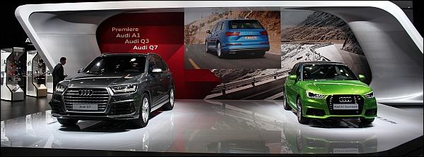 Autosalon Brussel 2015 Live - Audi