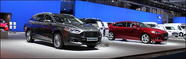 Autosalon Brussel 2015 Live - Ford