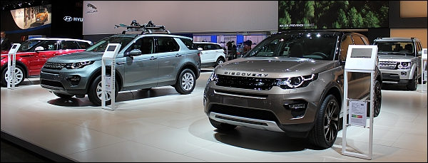 Autosalon Brussel 2015 Live - Land Rover