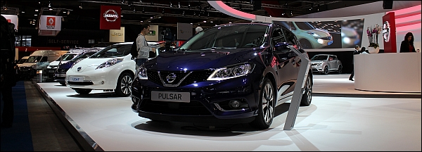 Autosalon Brussel 2015 Live - Nissan