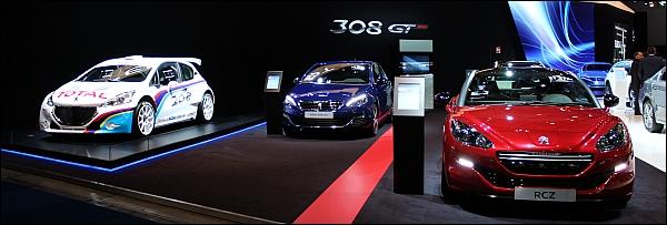 Autosalon Brussel 2015 Live - Peugeot