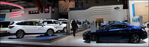 Autosalon Brussel 2015 Live - Subaru