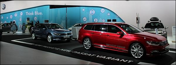 Autosalon Brussel 2015 Live - Volkswagen